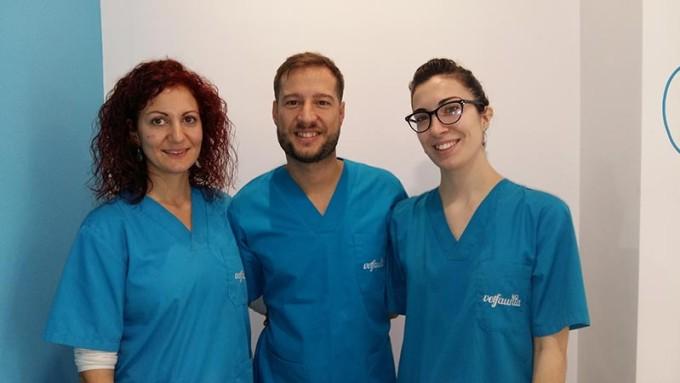 Equipo de veterinarios de Vetfaunia en Castellón